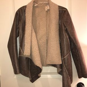 Forever 21 Jacket - Fuzzy size S